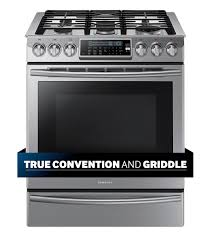 samsung 5 8 cu ft self cleaning slide in gas convection range stainless steel nx58h9500ws best