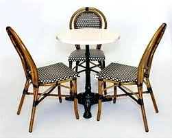 outdoor wicker cafe chair creative furniture lifts for in french bistro chairs inspirations 6 woven parisian of best black