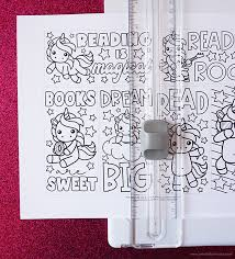 This activity includes three printable bookmarks that you can customize by having your students color their own picture on the back of the bookmarks, or even glue two together to. Free Printable Unicorn Coloring Bookmarks Artsy Fartsy Mama