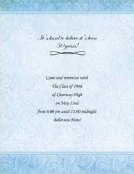 free reunion invitation templates class reunion free suggested wording by theme geographics