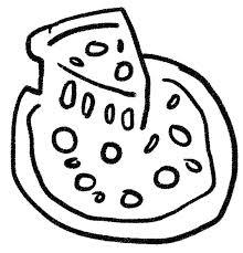 ピザのイラスト ゆるかわいい無料イラスト素材集