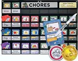 Neatlings Chore Chart System Details About Neatlings Chore Chart System 1 3 Kids 80 Chores Purple Pink Dkblue Cards