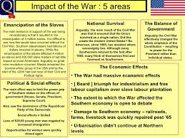 usvseng civil war essay  9 impact of the war