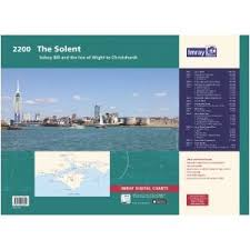 Yachtsman Chart Book 2200 Solent Chart Pack Imray Chart Folio Sailing On The