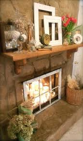 20 romantic fireplace candle ideas