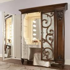 black bedroom furniture sets makeup vanity mirror cosmetic table vanity table with lights