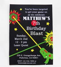 Free Laser Tag Invitation Template Laser Tag Birthday Invitation Print Resume Examples Free Printable