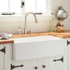 30 reinhard fireclay farmhouse sink white kitchen with regard to idea 1