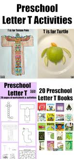 Letter of the Week: Preschool Letter T Activities - Teach Beside Me