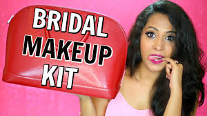 bridal makeup kit makeup essentials indian makeup shrutiarjunanand you