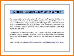 Medical Assistant Resumes And Cover Letters Magnificent 48 Sample Cover Letter For Medical Assistant Wine Albania