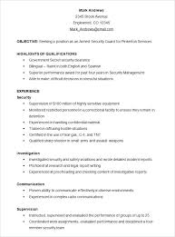 Format For A Resume Example Resume Format Example Federal Resume
