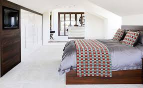 how to design house interior. open plan bedroom with a dressing room and bathroom how to design house interior
