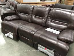 costco leather furniture. Fabulous Sofa Bed Costco For Your Pulaski Furniture Leather Reclining Weekender R