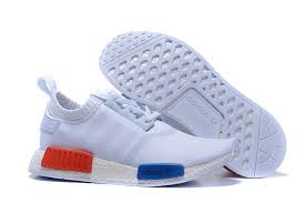 adidas shoes 2016 for men red. adidas originals nmd runner primeknit men running shoes white blue red 2016 for l