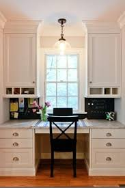 office in kitchen. builtin desk has lots of drawers and cupboards shelves i really like kitchen deskskitchen officeoffice office in g