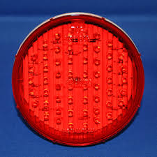 maxxima red 4 inch round 56 diode led stop turn tail light