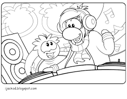Small Picture To Print Club Penguin Coloring Pages 62 With Additional Gallery