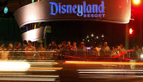 on harbor boulevard a pretense of business as usual disneyland ors wait to cross harbor boulevard on its eastern side the theme park has