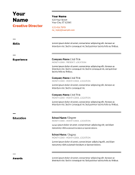 8 Sample Professional Cv Template Google Docs For Any Positions