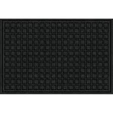 fiber and rubber commercial door mat