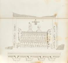 Tomb of Xerxes I at Naqsh-e Rustam   Works of Art   RA Collection   Royal  Academy of Arts