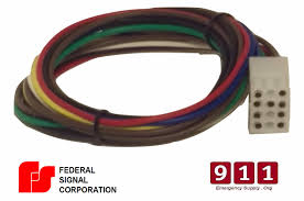 signal siren power harness plug cable 12 pin pa300 federal signal ss2000 wiring diagram at Federal Signal Ss2000d Wiring Diagram
