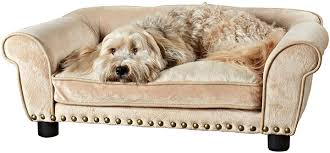 Enchanted Home Pet Dreamcatcher Dog Bed, 33.5 by 21 by 12.5-Inch, Caramel