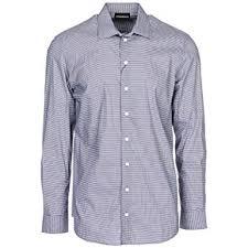 Emporio Armani Men Shirt Nero 15 3 4 Inch At Amazon Mens