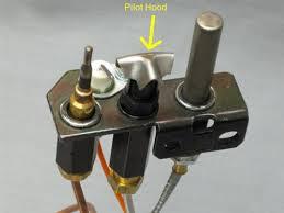 most pilot lights consist of 3 parts the pilot hood