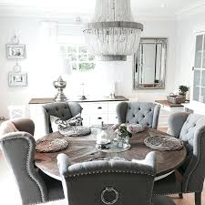 grey dining room table sets living room decorating ideas want to steal asap grey round dining grey dining room