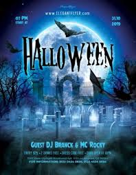 Halloween Flyers Templates Download Free Halloween Flyer Psd Templates For Photoshop