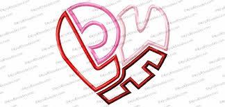 Jens Original Embroidery Designs Love Heart Applique Embroidery Design Embroidery