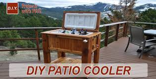 Diy Patio How To Build A Patio Cooler