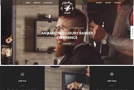 Barber Shop Website Create Responsive Barber Shop Website By Emon938
