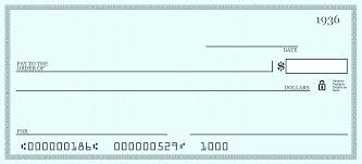 Free Blank Check Template Big Blank Check Template