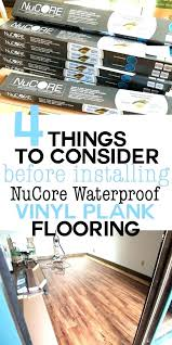 nucore flooring reviews flooring manufacturer flooring before you install a vinyl plank floor in your home