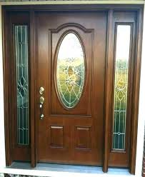 front door glass insert frame replacement entry inserts and frames doors outstanding oval