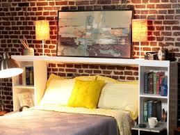 Charming Diy Headboard With Shelves 58 With Additional Home Designing  Inspiration With Diy Headboard With Shelves
