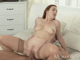 Redhead mom loves rimming and fucking