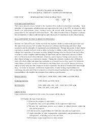 Ot Resume Objective Examples Sidemcicek Com