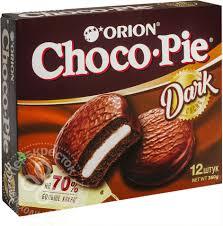 Купить <b>Пирожное Orion Choco Pie</b> Dark в глазури 12шт*30г с ...