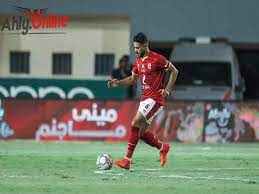 مباراة الأهلي والمقاولون العرب واحتفال صلاح محسن الجنوني