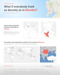 Oc Number Mumbai Chart What If Everybody Lived As Densely As They Do In Mumbai Oc