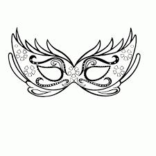 Niewu Kleurplaten Carnaval Maskers Kleurplaat 2019