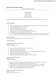 teaching assistant resume sample teachers assistant resumes teacher daycare resume examples
