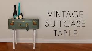 Suitcase Nightstand diy vintage suitcase table youtube 3660 by guidejewelry.us