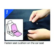 cooling car seat cushion with 3d design