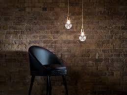 hanging lamp clear crystal bulb pendant 3