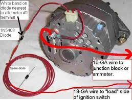 john deere alternator wiring diagram john image 1 wire alternator diagram wiring diagram schematics baudetails on john deere alternator wiring diagram